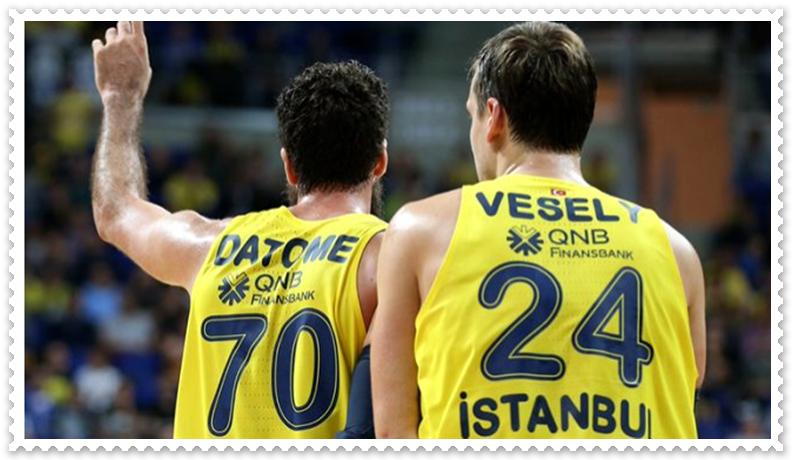 Fenerbahçe Beko oyuncusu Luigi Datome