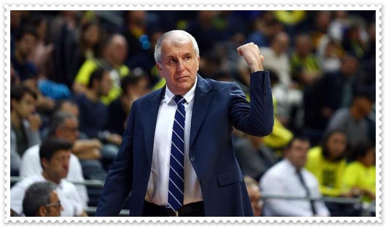 Fenerbahçe Beko başkanı Ali Koç Zeljko Obradovic